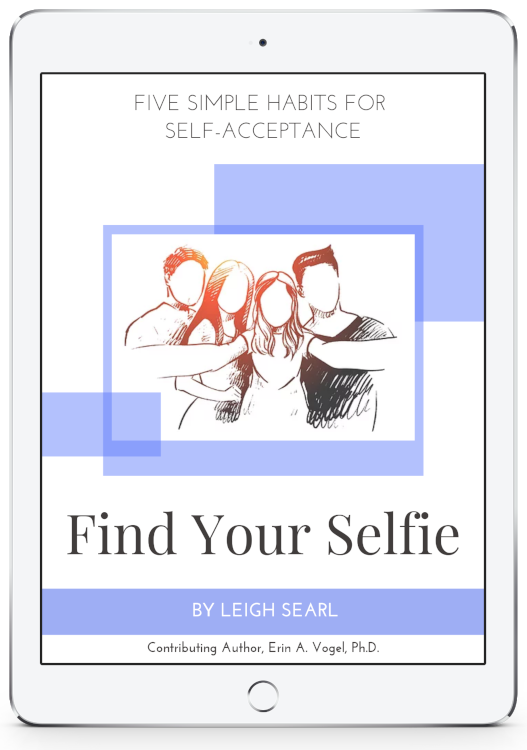 find your selfie coaching program displayed in an ipad